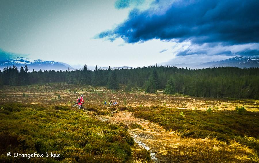 Experience mountain bike trails Scotland.