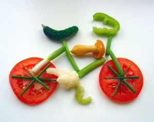Ensure you eat healthy! Important for sport nutrition.